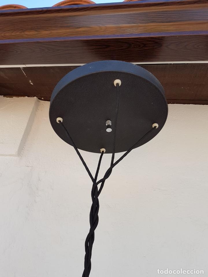 Antigüedades: LAMPARA ANTIGUA SICODELICA VINTAGE,AÑOS 60-70 APROX - Foto 7 - 131671850