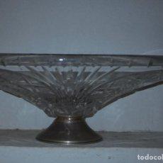 Antigüedades: PASTELERIA ANTIGUO EXPOSITOR CENTRO DE MESA PARA CARAMELOS DE CRISTAL . Lote 131696270