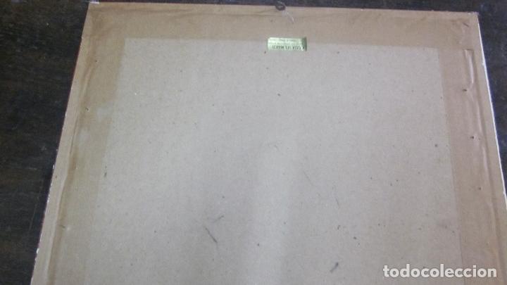 Antigüedades: Encaje de bolillos enmarcado - Foto 3 - 27377320