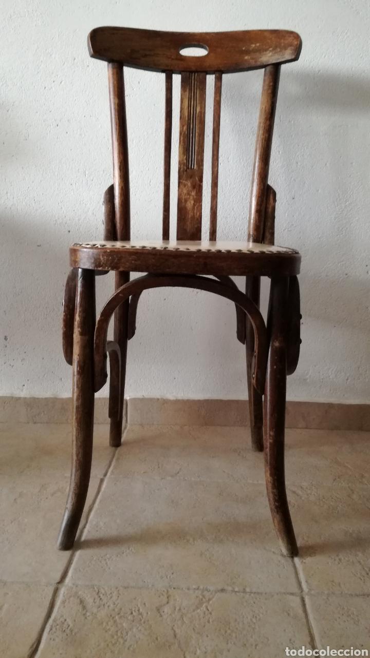 Antigüedades: JUEGO DE 6 SILLAS ESTILO TONET - Foto 2 - 131722005