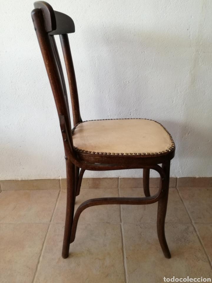 Antigüedades: JUEGO DE 6 SILLAS ESTILO TONET - Foto 3 - 131722005