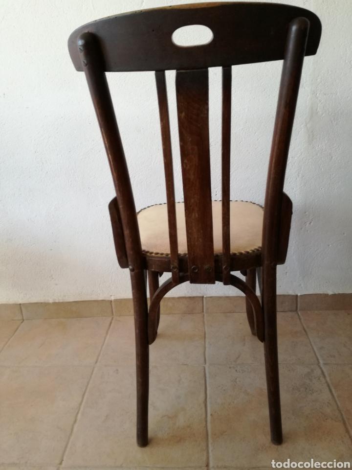 Antigüedades: JUEGO DE 6 SILLAS ESTILO TONET - Foto 4 - 131722005