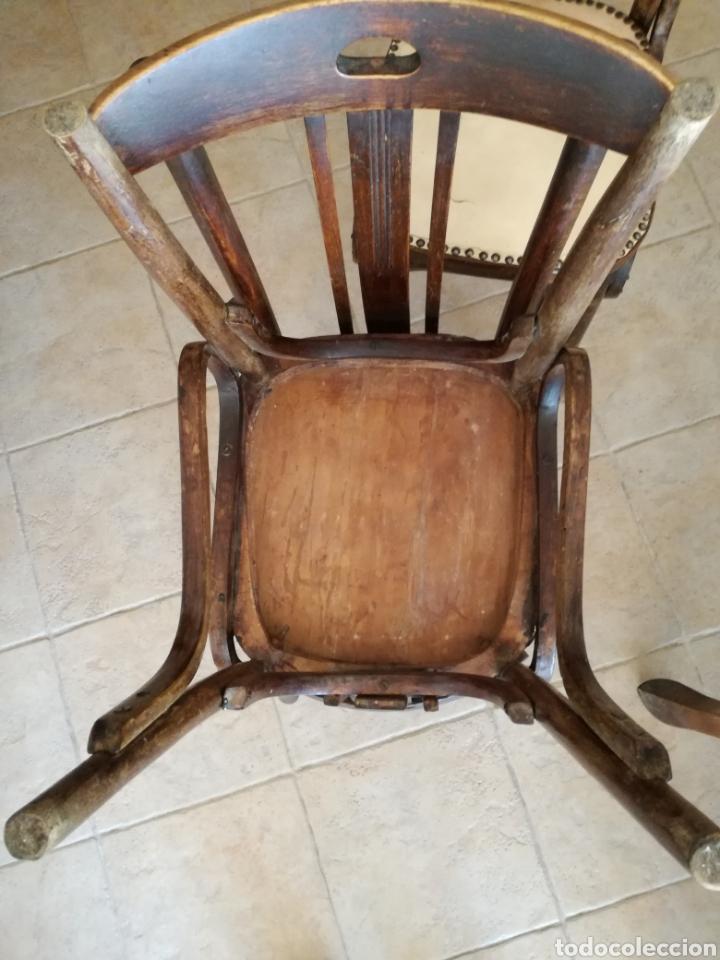 Antigüedades: JUEGO DE 6 SILLAS ESTILO TONET - Foto 6 - 131722005