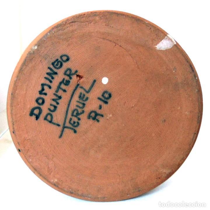 Antigüedades: JARRA ACEITERA -CERAMICA DE TERUEL-DOMINGO PUNTER-AÑOS OCHENTA - Foto 6 - 131791706