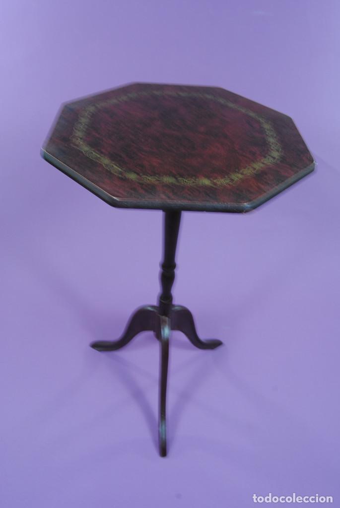 Antigüedades: VELADOR ESTILO ISABELINO - Foto 2 - 131828158