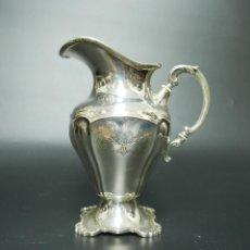 Antigüedades: JARRA EN PLATA LEY MARCADO CON CONTRASTE . Lote 131846970