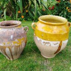 Antiquités: CÁNTAROS SEMIVIDRIADOS. Lote 131848071