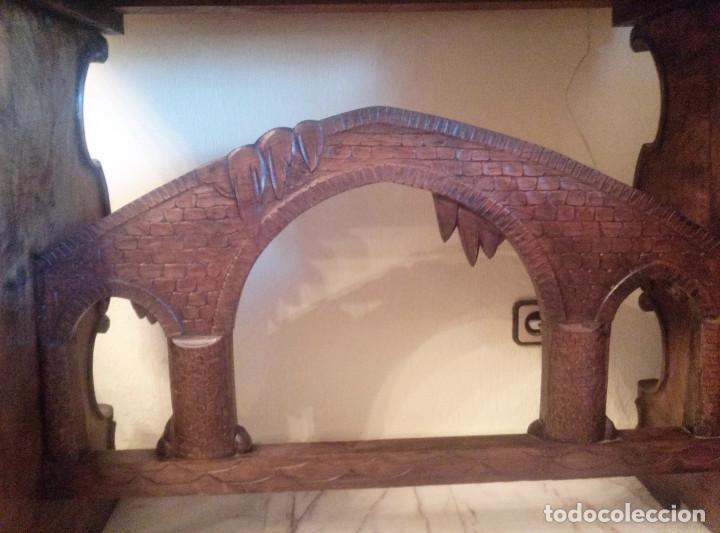 Antigüedades: Bargueño escritorio castellano sXIX - Foto 7 - 131881374
