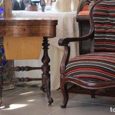 Butaca antigua inglesa vendido en venta directa 112447275 - Cuanto cuesta tapizar una butaca ...