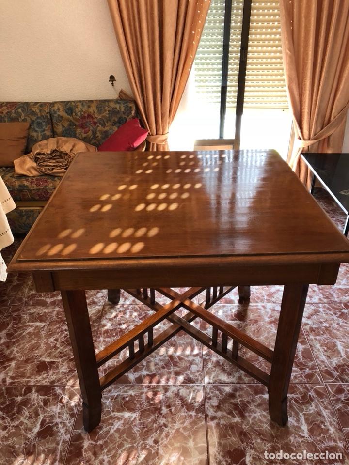 mesa comedor madera maciza - Comprar Mesas Antiguas en todocoleccion ...