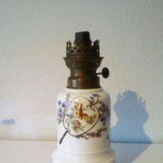 Antigüedades: ANTIGUO QUINQUE PORCELANA.. Lote 132020594