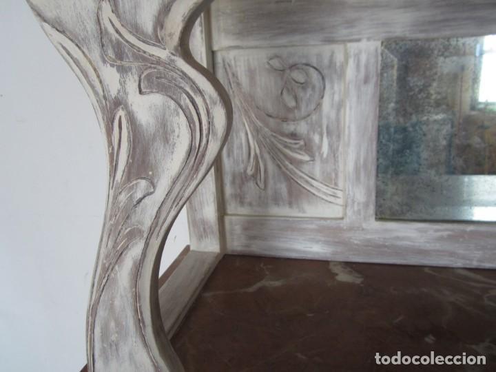 Antigüedades: MUEBLE ESTILO ART NOUVEAU APARADOR DE COMEDOR - Foto 10 - 132023430