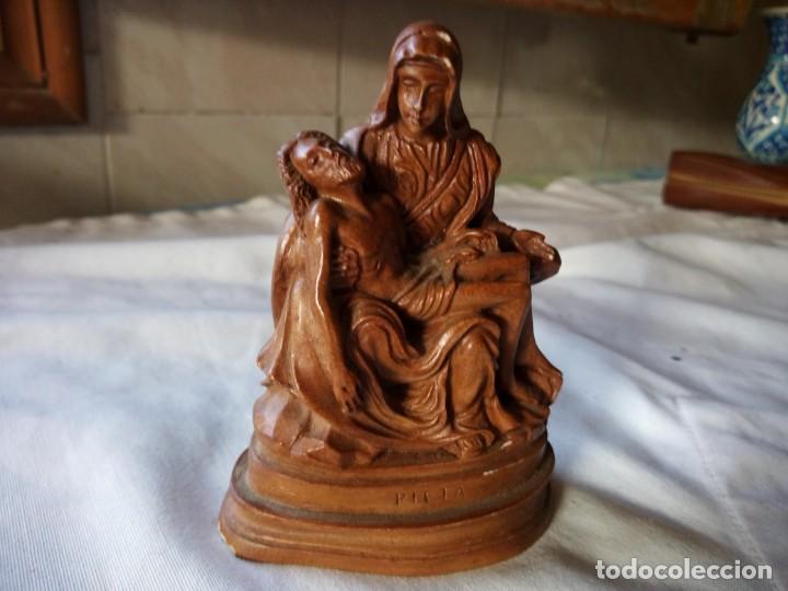 Antigüedades: figura PIEDAD DE MARFILINA - Foto 2 - 132051894
