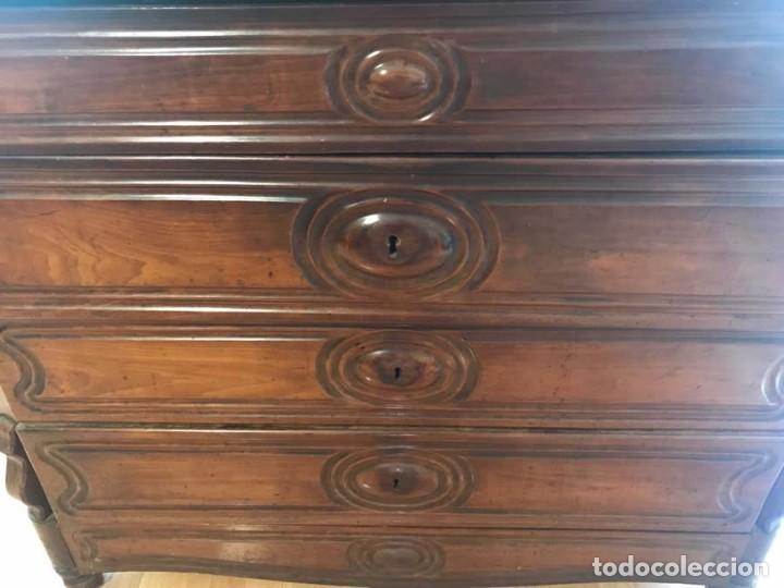 Antigüedades: Cómoda catalana de caoba con marmol - Foto 5 - 132064506
