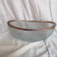 Antigüedades: CRISTAL DE BOHEMIA CHECO 21X10. Lote 132067542