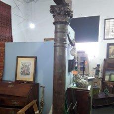 Antigüedades: PAREJA DE COLUMNAS. Lote 132071771