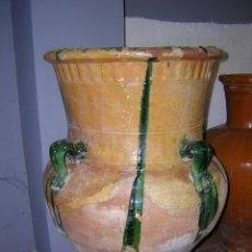 Antigüedades: ALFARERÍA ANDALUZA: TINAJA DE GRAZALEMA. Lote 132075858