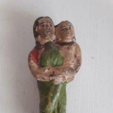 Antigüedades: MATERNIDAD. TERRACOTA.. Lote 132088349