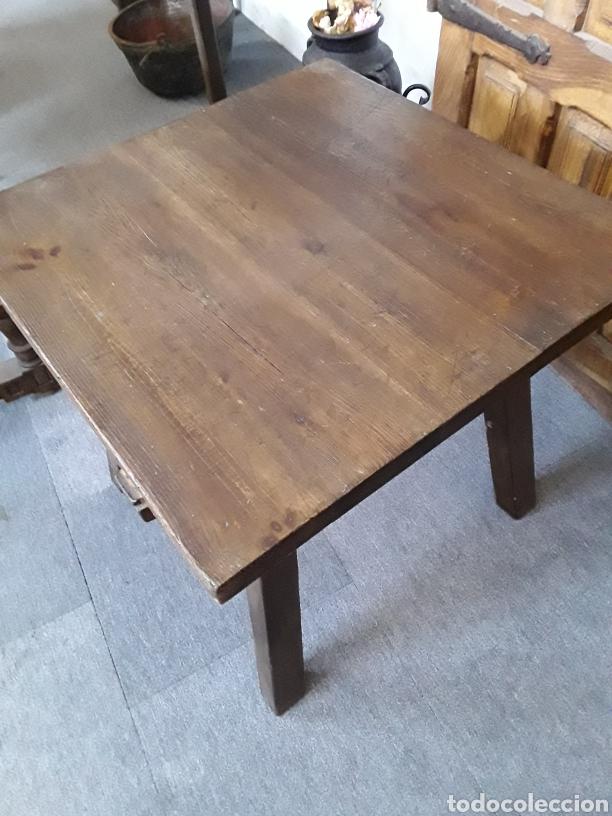 Antigüedades: Antigua mesa - Foto 2 - 132088905