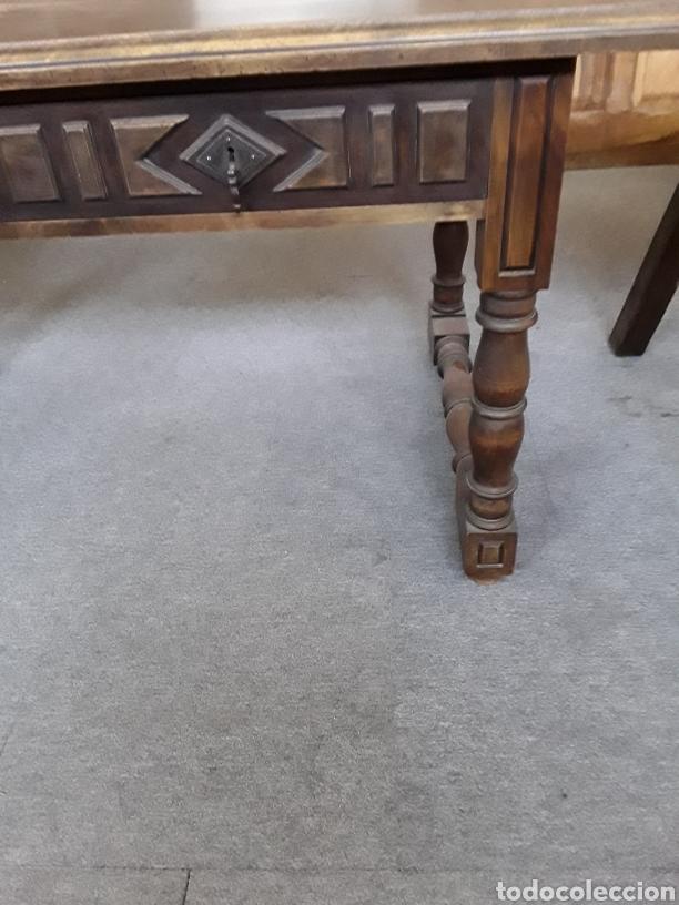 Antigüedades: Mesa de nogal - Foto 2 - 132089763