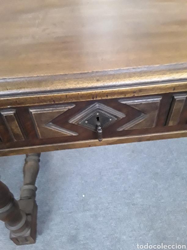 Antigüedades: Mesa de nogal - Foto 7 - 132089763