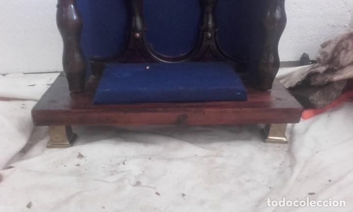 Antigüedades: PRECIOSA CAPILLA PARA VIRGEN O SANTO - Foto 2 - 132106074
