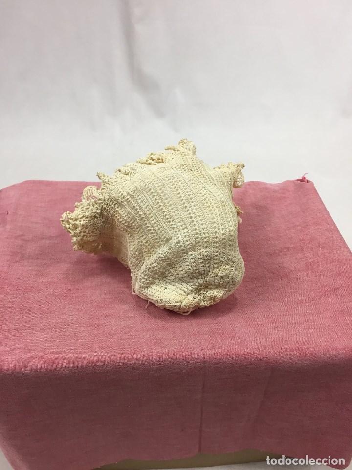 Antigüedades: Gorrito antiguo de bebé - Foto 2 - 132106102