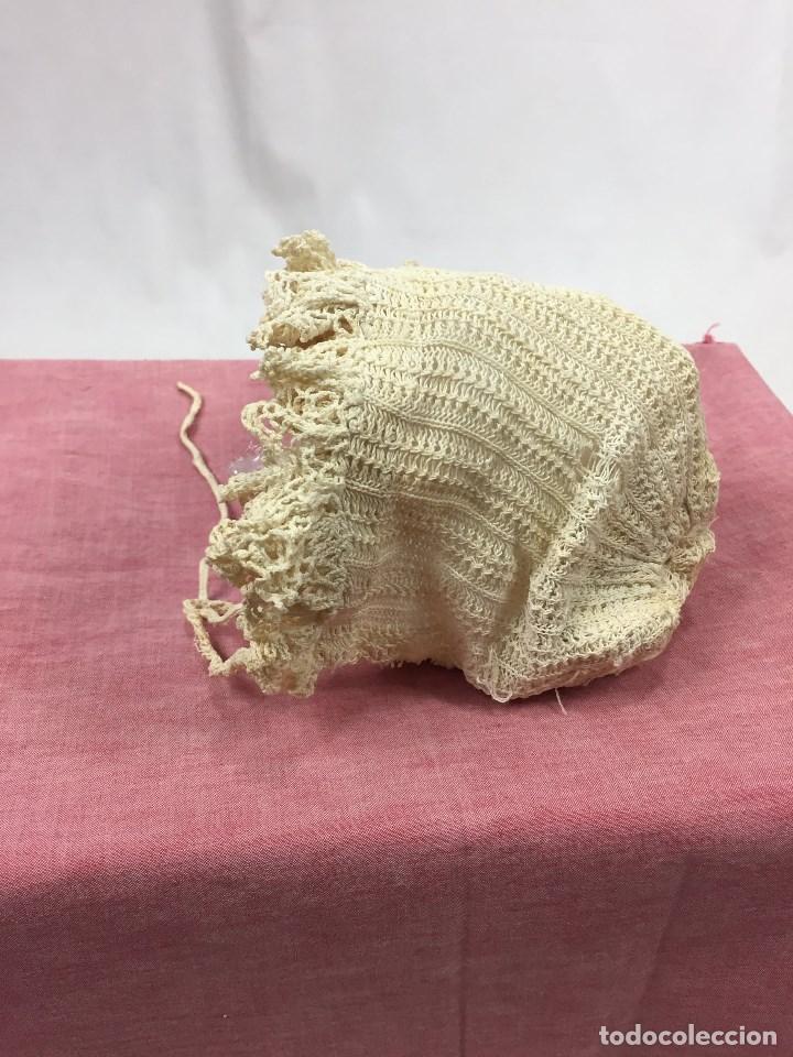 Antigüedades: Gorrito antiguo de bebé - Foto 3 - 132106102