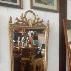 Antigüedades: CONSOLA Y ESPEJO ESTILO LUIS XVI. Lote 132120098