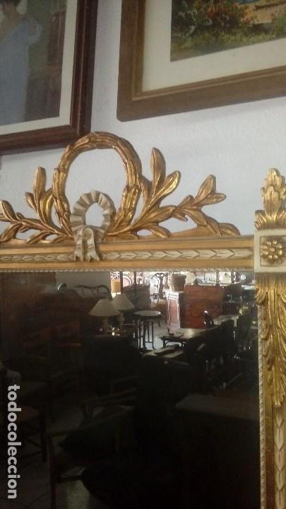 Antigüedades: Consola y espejo estilo Luis XVI - Foto 4 - 132120098