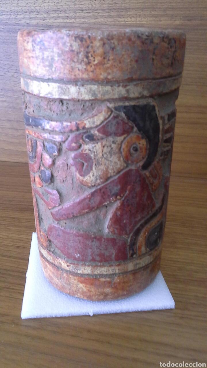 RÉPLICA ARTESANÍA MAYA (Antigüedades - Varios)