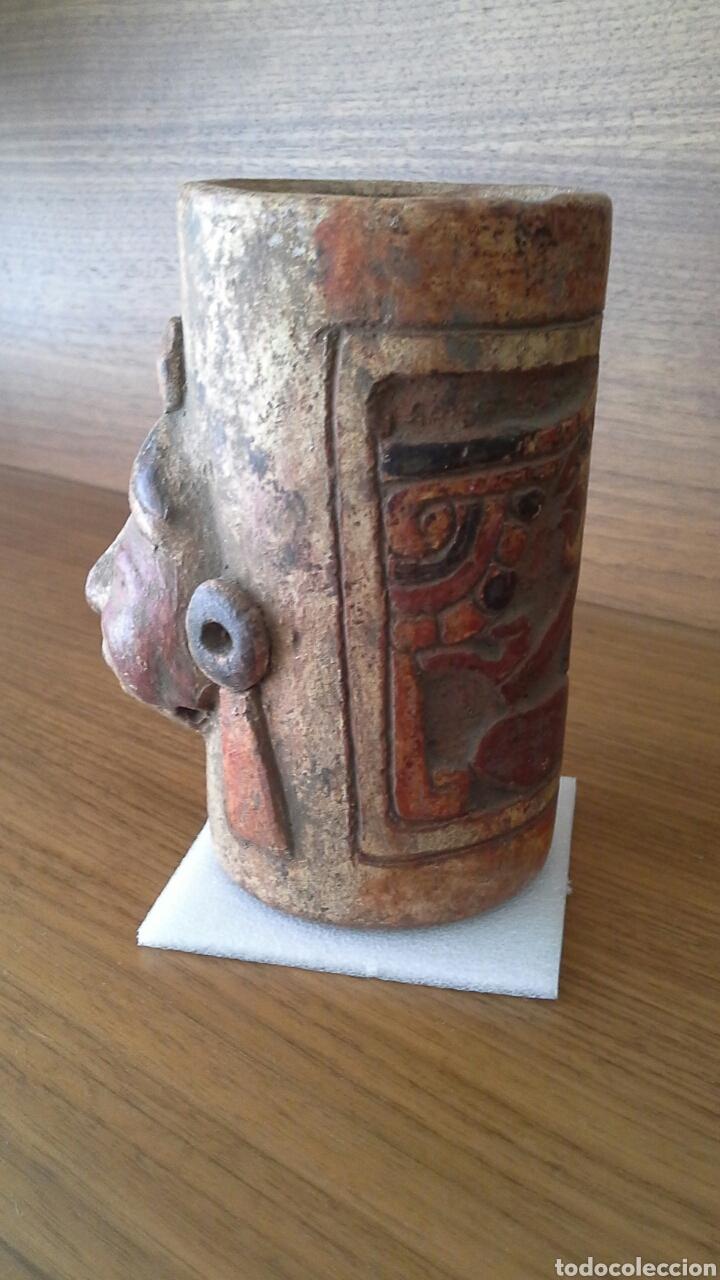 Antigüedades: Réplica artesanía maya - Foto 3 - 132135642