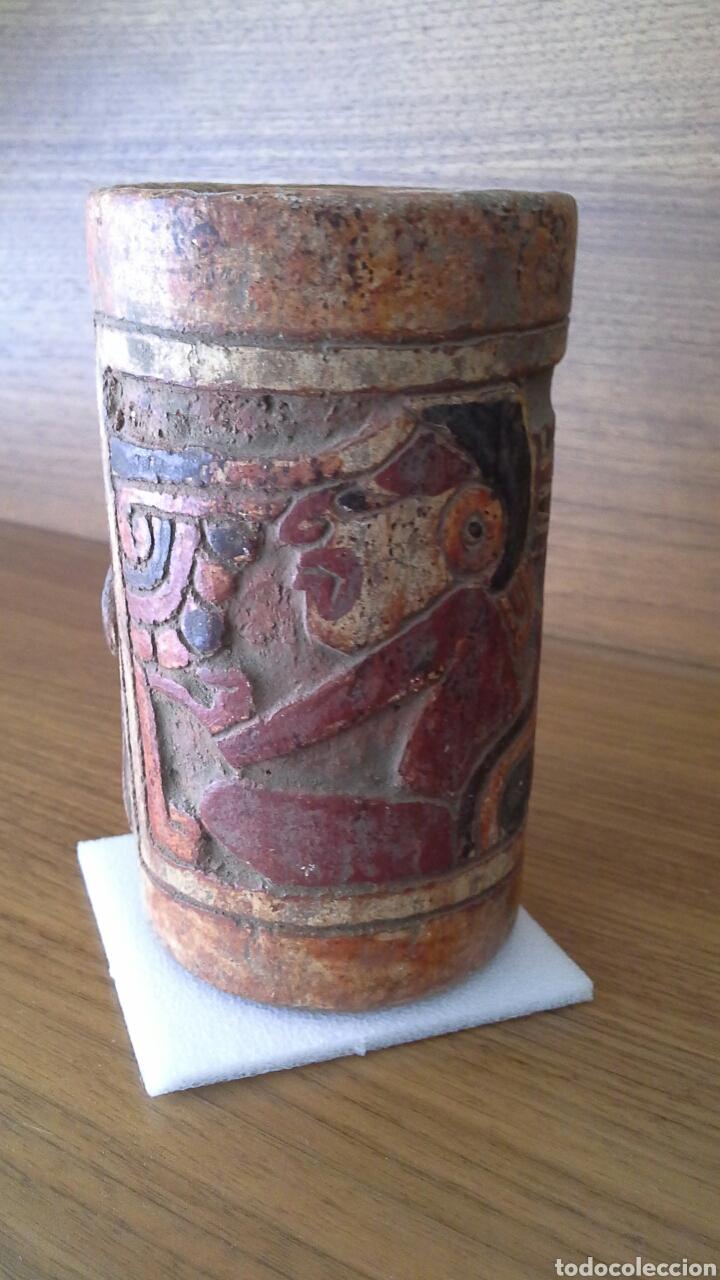 Antigüedades: Réplica artesanía maya - Foto 5 - 132135642