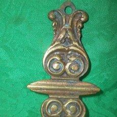 Antigüedades: PIEZA EN BRONCE DE LAMPARA VOTIVA. Lote 132141670