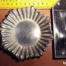 Antigüedades: BANDEJA DE PLATA GRANDE. Lote 132146618