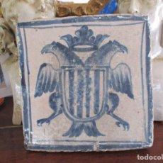 Antigüedades: AZULEJO DE TERUEL SIGLO XVI. Lote 132150226