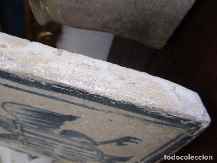 Antigüedades: Azulejo de Teruel siglo XVI - Foto 3 - 132150226