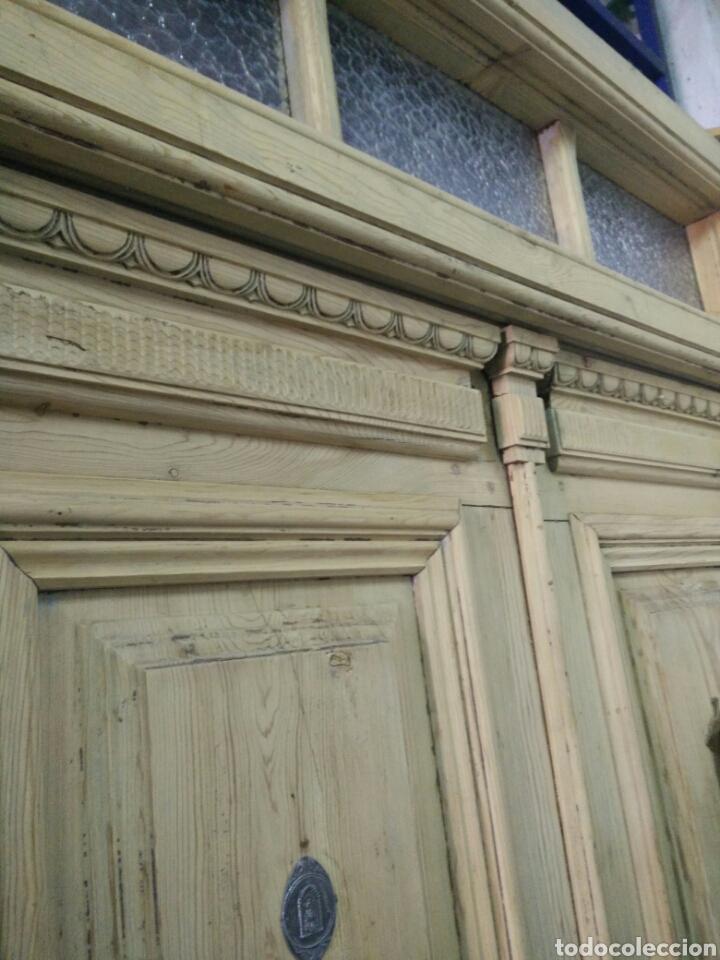 Antigüedades: Portón con tragaluz - Foto 6 - 132190151