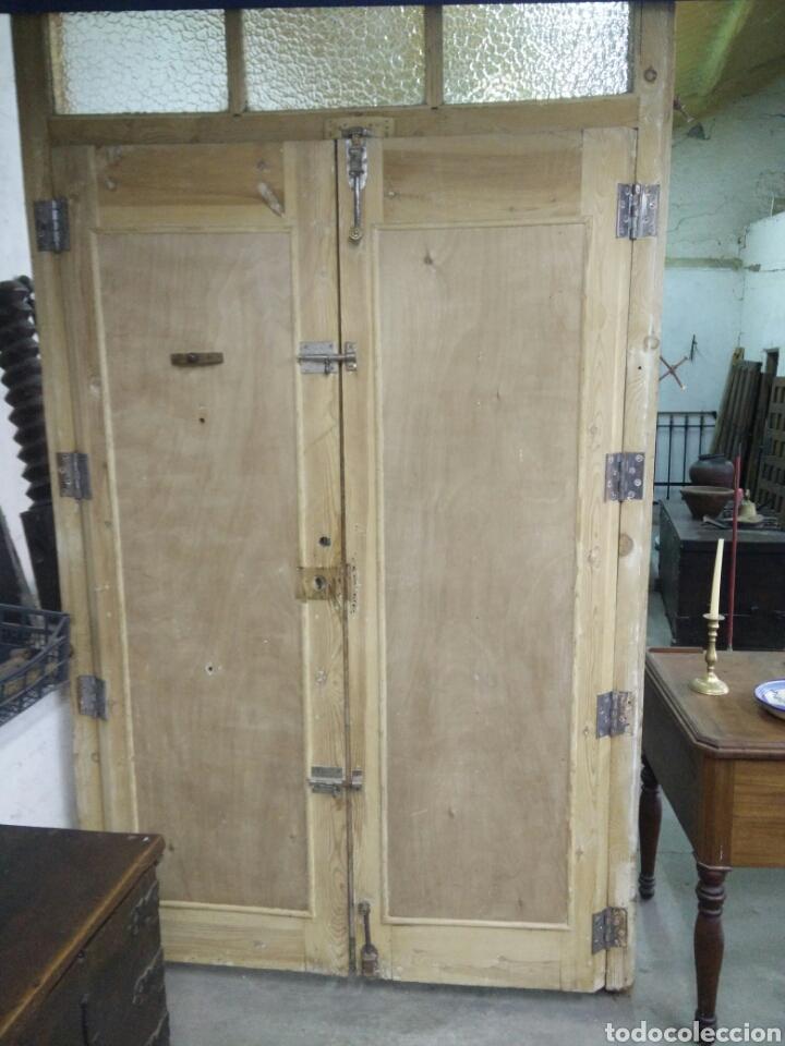 Antigüedades: Portón con tragaluz - Foto 7 - 132190151