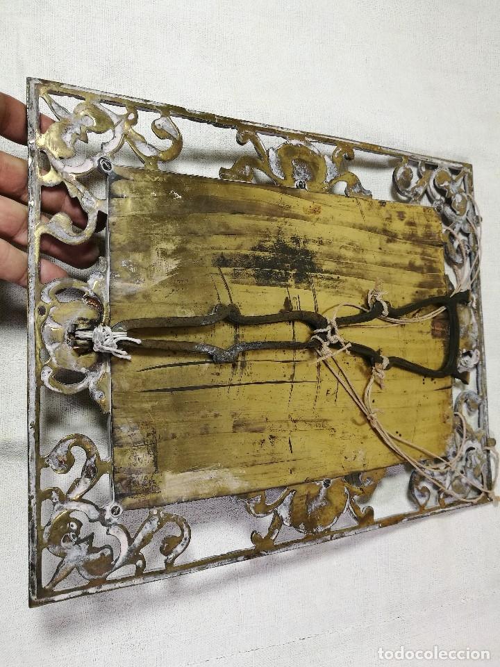 Antigüedades: bonito marco portafotos portaretratos bronce años 40 original...grande 35 x 28 cm - Foto 15 - 132199094