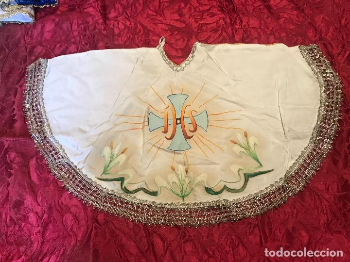 CUBRE COPON (Antigüedades - Religiosas - Ornamentos Antiguos)