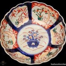 Antigüedades: ELEGANTE Y ANTIGUO CUNECO, DE PORCELANA JAPONESA, DE LA FÁBRICA IMARI, LABRADO A MANO, . Lote 132236630