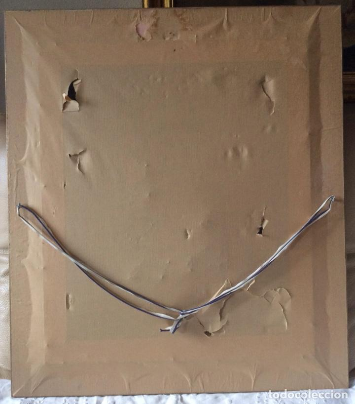 Antigüedades: ANTIGUA PLACA DE LA VIRGÉN DE BEGOÑA REALIZADA EN COBRE CON BAÑO DE PLATA - Foto 5 - 80387189