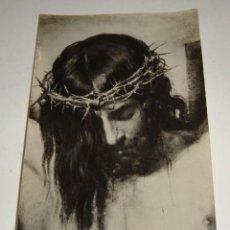 Antigüedades: FOTOGRAFÍA RELIGIOSA CON ORACION ESCRITA POR MARIA DEL CARMEN PEMÁN.. Lote 132280458