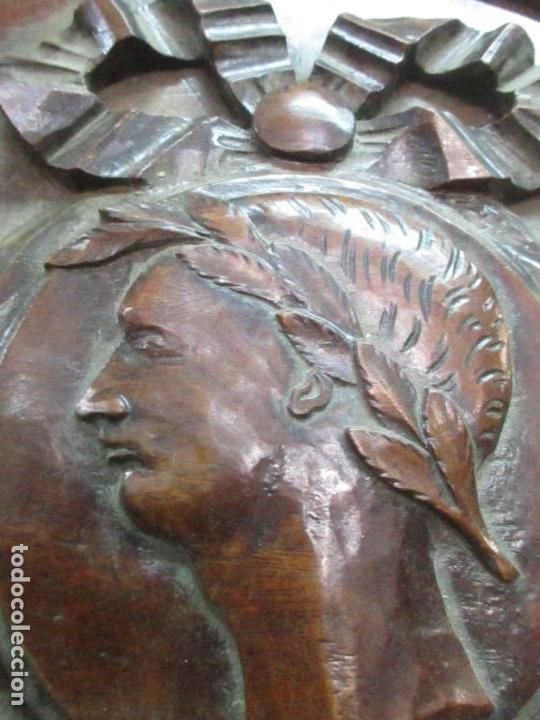 Antigüedades: Preciosa Vitrina - Estilo Regencia (1800-1830) Inglaterra - Madera de Caoba - 241 cm Altura - S. XIX - Foto 57 - 132309442