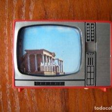 Antigüedades: VISOR DE MÉRIDA CON FORMA DE TELEVISION. Lote 132316086