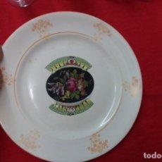 Antigüedades: PLATO DE PORCELANA DE SEVILLA . Lote 132317302
