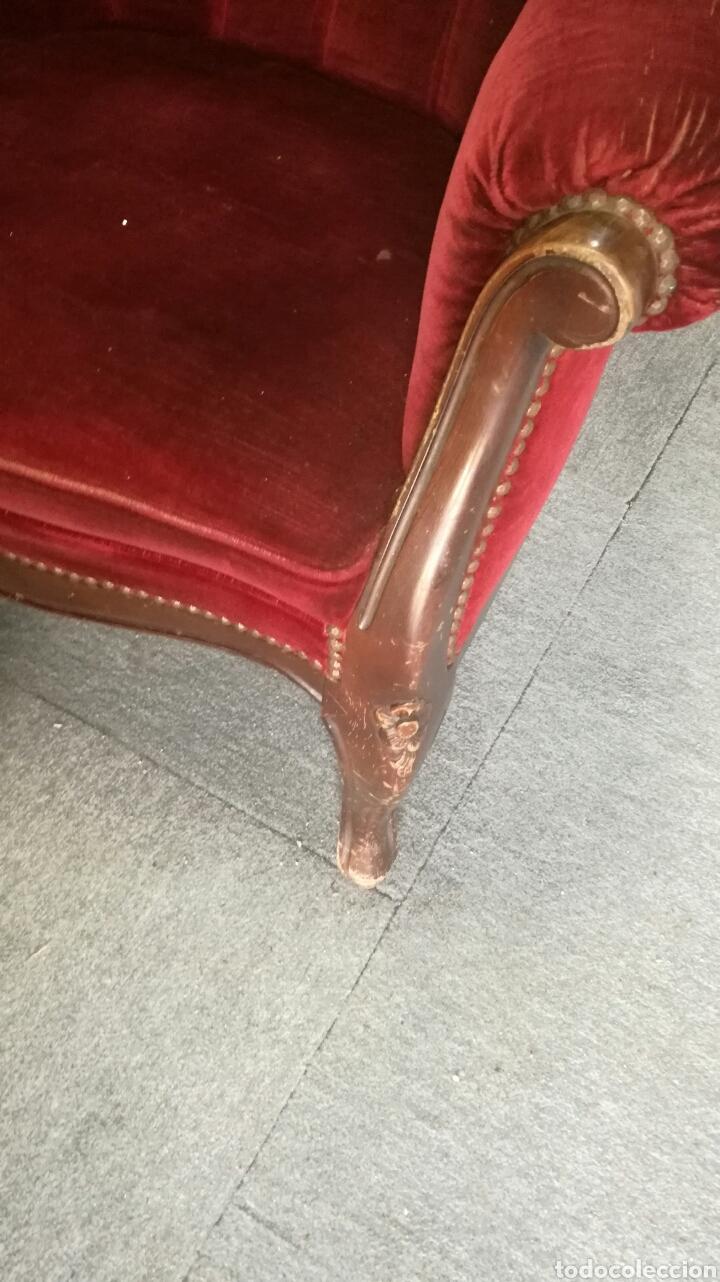Antigüedades: Sofa y dos sillones L R - Foto 6 - 132353675