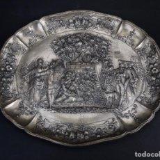 Antigüedades: BANDEJA EN BAJORELIEVE DECORATIVA. Lote 132381178