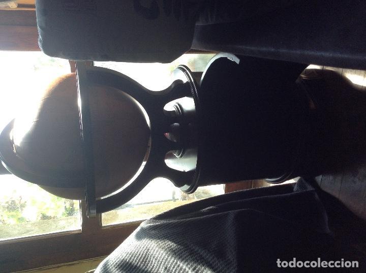 Antigüedades: MUEBLE BAR BOLA TERRÁQUEA DE MADERA - Foto 2 - 132387530